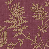 Albany Elsie Burgundy Wallpaper