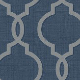 Albany Laticia Navy Wallpaper - Product code: 65493