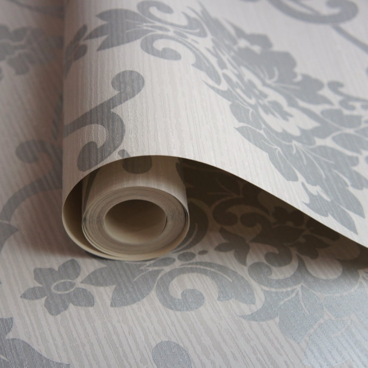 Albany Kaluna Damask Dove Wallpaper - Product code: 65501