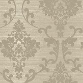 Albany Kaluna Damask Taupe Wallpaper - Product code: 65504