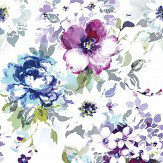 Casadeco Idyllique Wall Mural Blue / Purple - Product code: 89395242