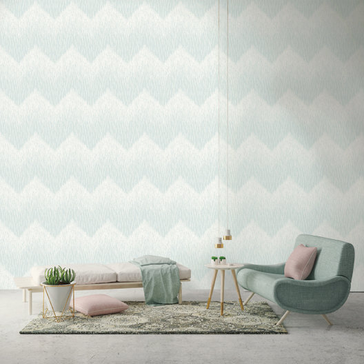 Albany Fragment Duck Egg Wallpaper - Product code: 65410