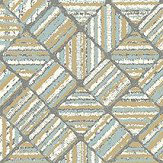 The Paper Partnership Pyrite Larimar Wallpaper