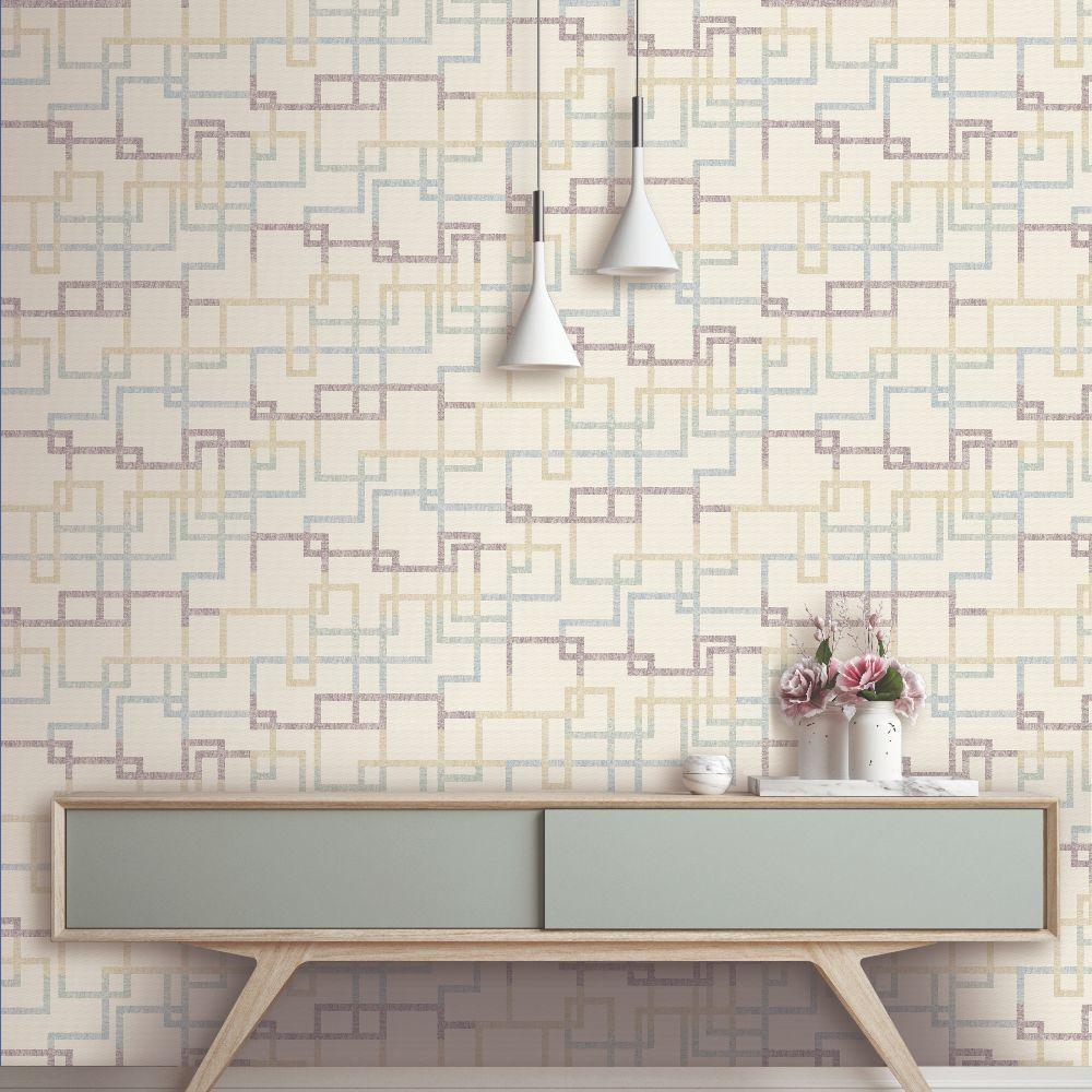 Elizabeth Ockford Hatton Mineral Wallpaper - Product code: WP0140603