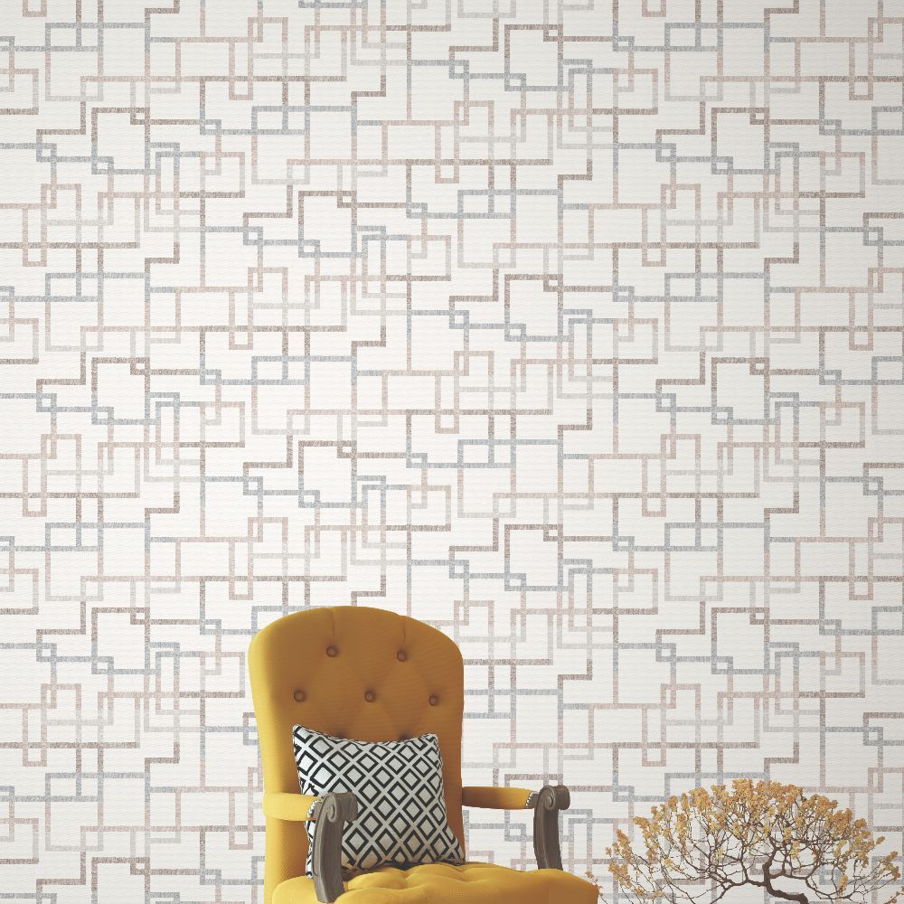 Elizabeth Ockford Hatton Quartz Wallpaper - Product code: WP0140604
