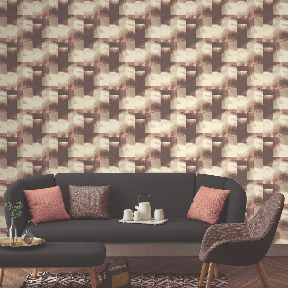 Elizabeth Ockford Clouds Ruby Wallpaper - Product code: WP0140705