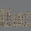 Brian Yates Amsterdam Grey Wallpaper