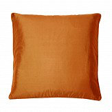 Kandola Silk Cushion Chestnut