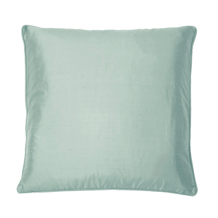 Silk Cushion - Cornflower - by Kandola