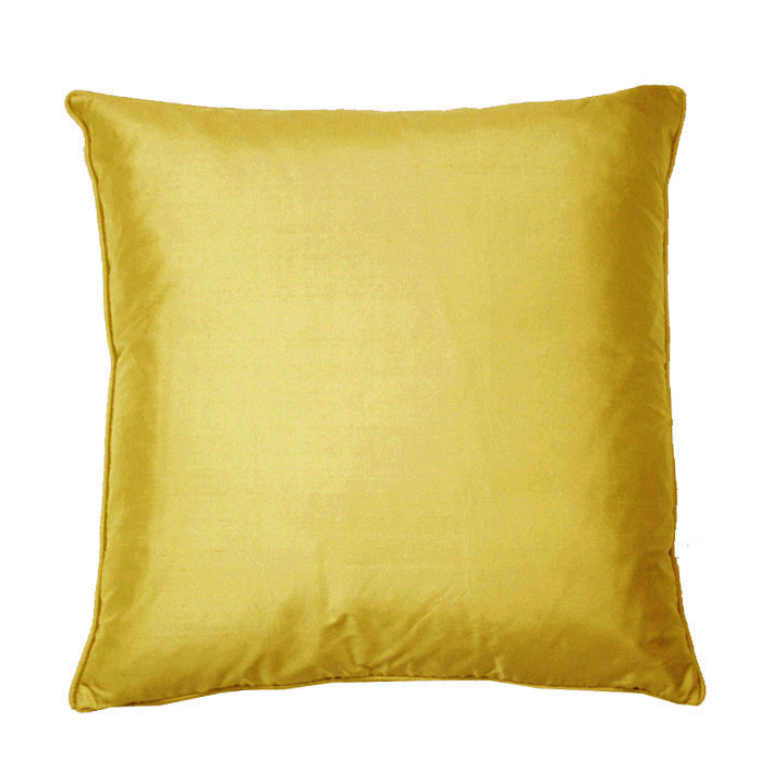 Silk Cushion - Inca Gold - by Kandola