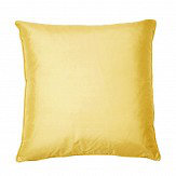 Kandola Silk Cushion Light Gold