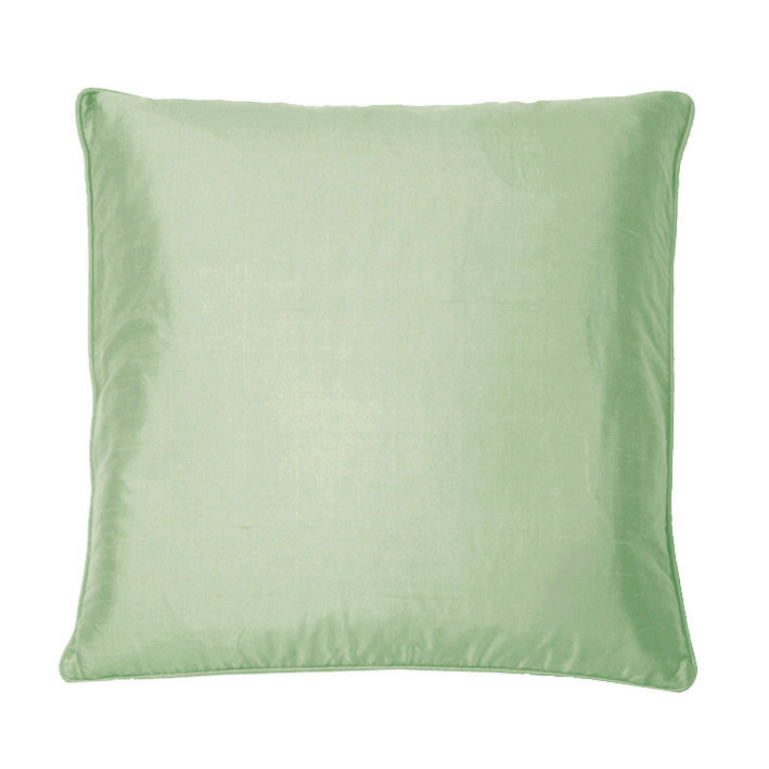 Silk Cushion - Misty Jade - by Kandola