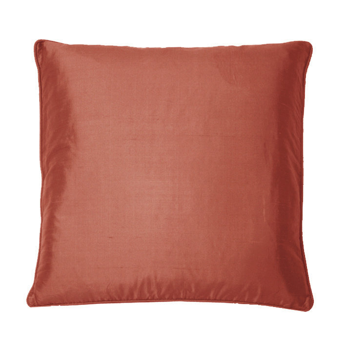 Silk Cushion - Old Rose - by Kandola