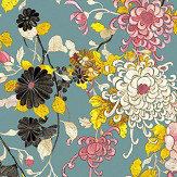 Jean Paul Gaultier Yokata Blue Wallpaper - Product code: 3316/03