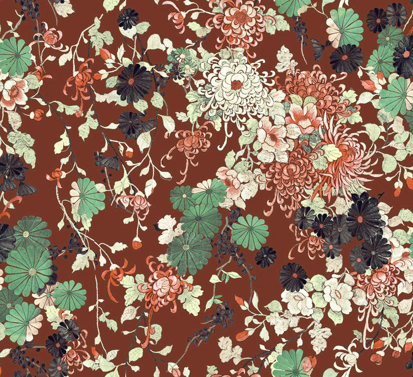 Jean Paul Gaultier Yokata Garnet Wallpaper - Product code: 3316/04