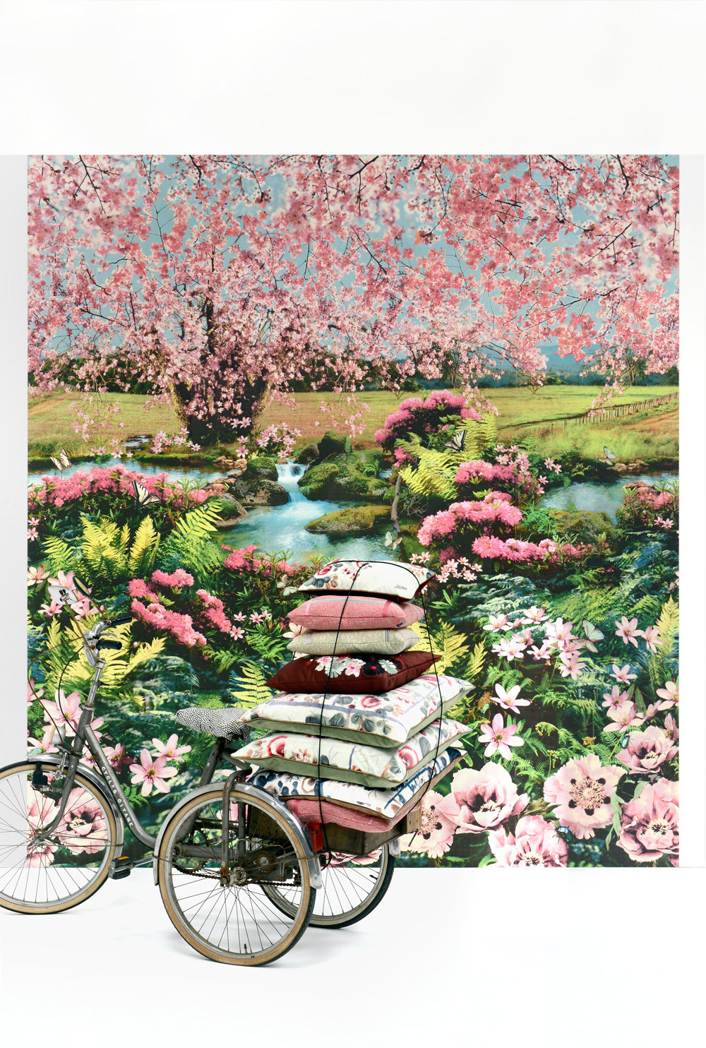 Festival Mural - Multicolour - by Jean Paul Gaultier