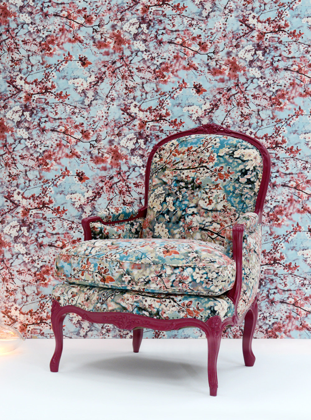 Jean Paul Gaultier Cerisier Marshmallow Wallpaper - Product code: 3321/03