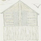 Sanderson Beach Huts Driftwood Wallpaper - Product code: 216561