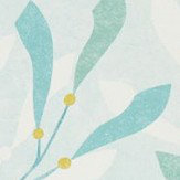Sanderson Sea Kelp Aqua / Lichen Wallpaper - Product code: 216566