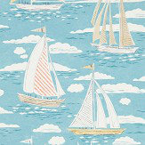 Sanderson Sailor Pacific Wallpaper - Product code: 216571