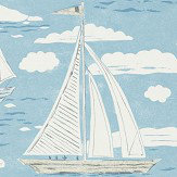 Sanderson Sailor Nautical Wallpaper - Product code: 216572
