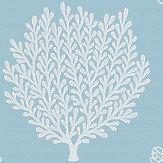 Sanderson Coraline Marine Wallpaper