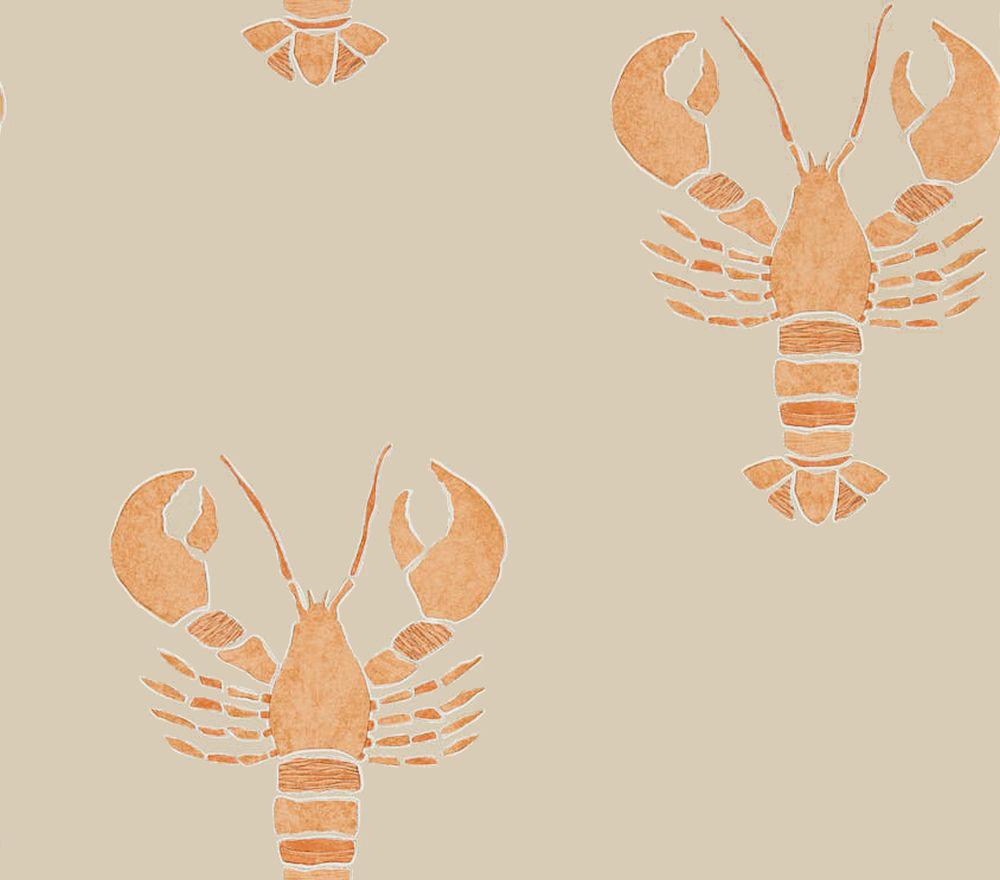 Sanderson Cromer Rust Wallpaper - Product code: 216589