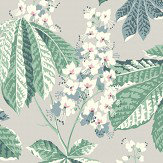 Boråstapeter Chestnut Blossom Grey Wallpaper