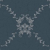 Coordonne Hugo Dark Blue Wallpaper