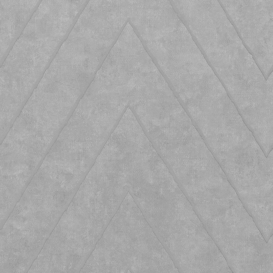 Camus Wallpaper - Concrete - by Coordonne