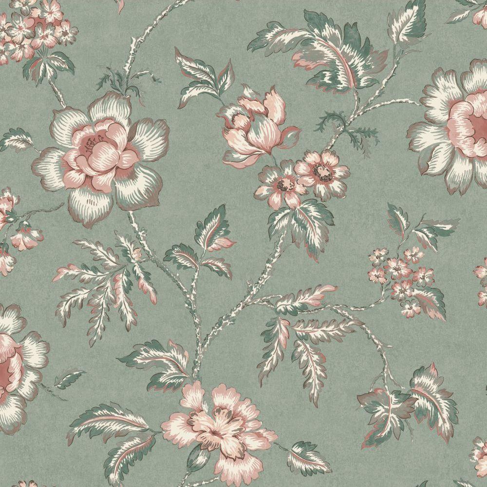 Boråstapeter Camille Green Wallpaper - Product code: 7209