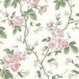 Boråstapeter French Roses Pink Wallpaper