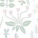 Boråstapeter Strawberry Field White / Multi Wallpaper - Product code: 7217