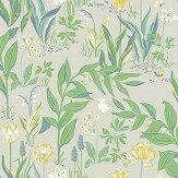 Boråstapeter Spring Garden Green Wallpaper