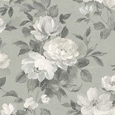 Boråstapeter Peony Grey Wallpaper - Product code: 7226