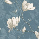 Boråstapeter Lilly Tree Blue Wallpaper - Product code: 7228