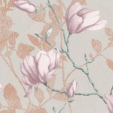 Boråstapeter Lilly Tree Brown Wallpaper - Product code: 7230