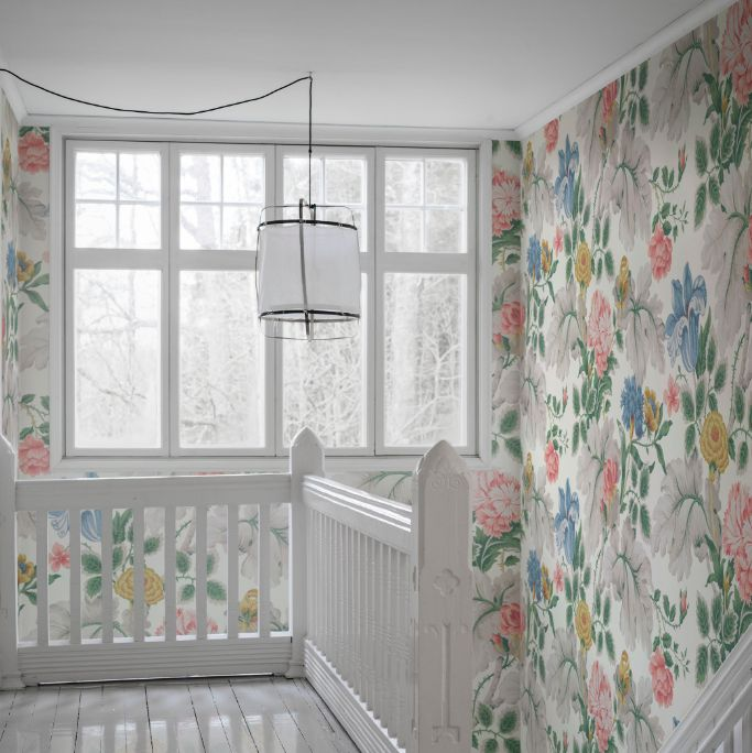 Boråstapeter Carnation Garden Mural Multi-coloured - Product code: 7236