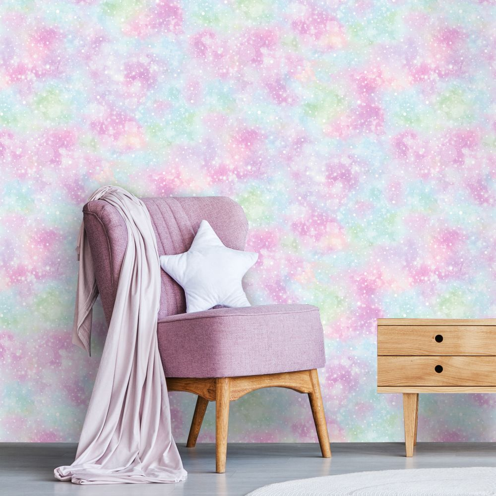 Albany Iridescent Texture Glitter Multi Wallpaper - Product code: 12795