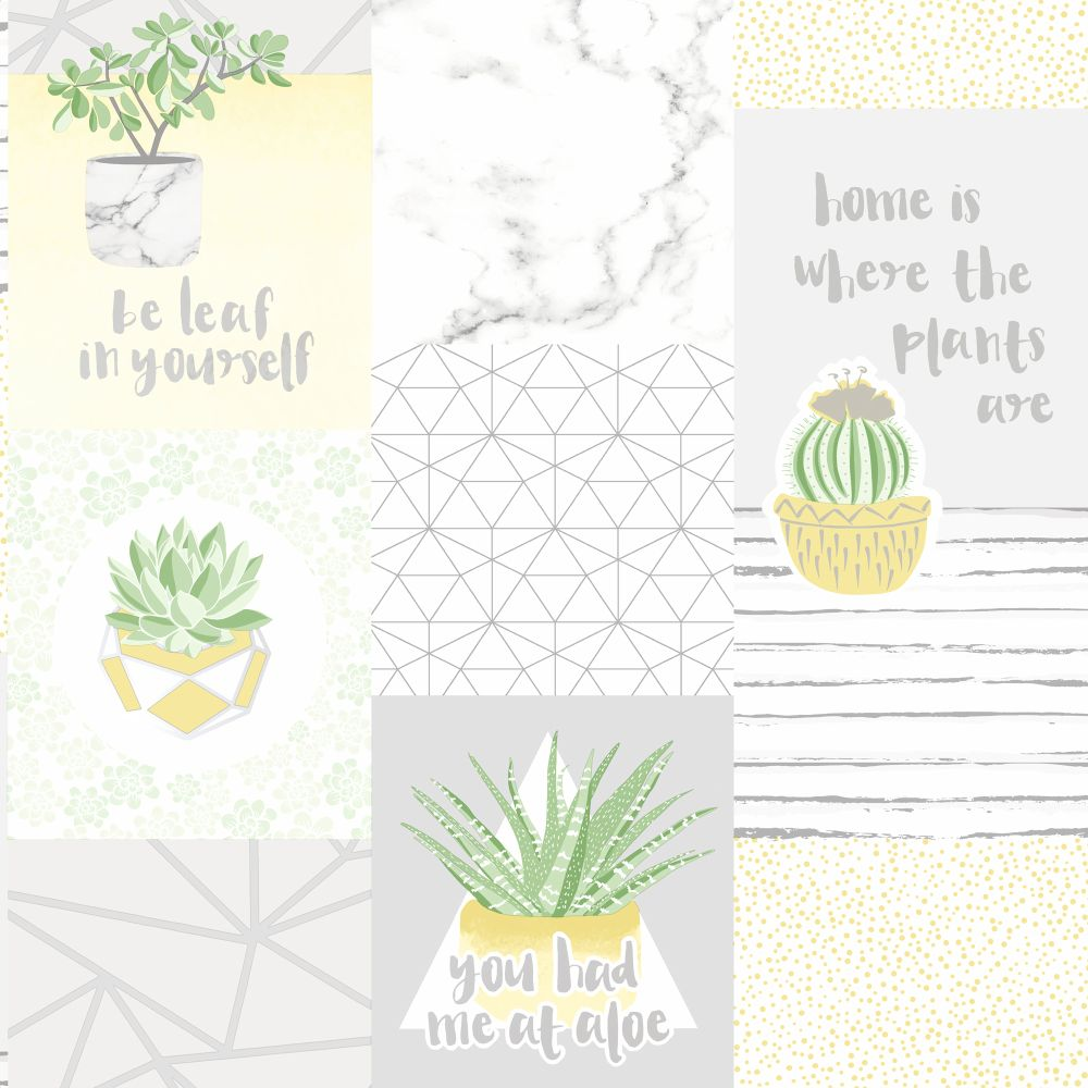 Holden Decor You Had Me at Aloe Multi Wallpaper - Product code: 12780
