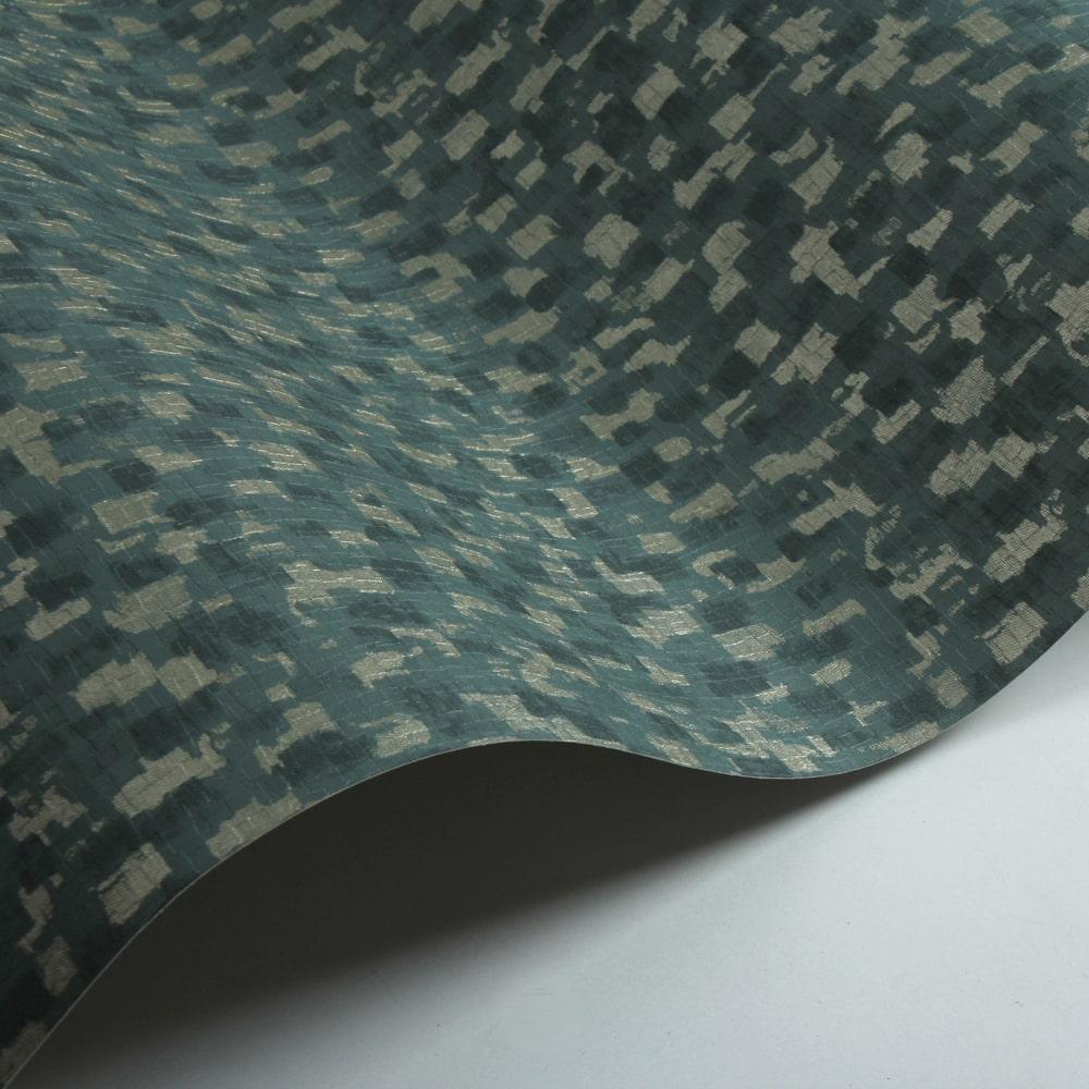 Batali Wallpaper - Teal - by Jane Churchill