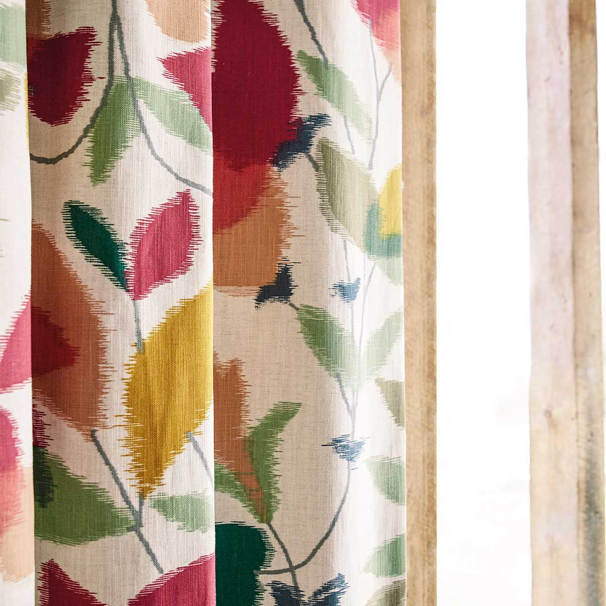 Scion Akira Berry / Ochre / Pistachio Fabric - Product code: 120750