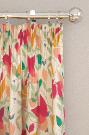 Scion Akira Berry / Ochre / Pistachio Curtains - Product code: 120750