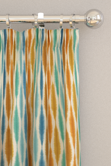 Scion Usuko Rust / Marine / Indigo Curtains - Product code: 120755