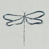 Scion Dragonfly Liquorice Fabric - Product code: 120758