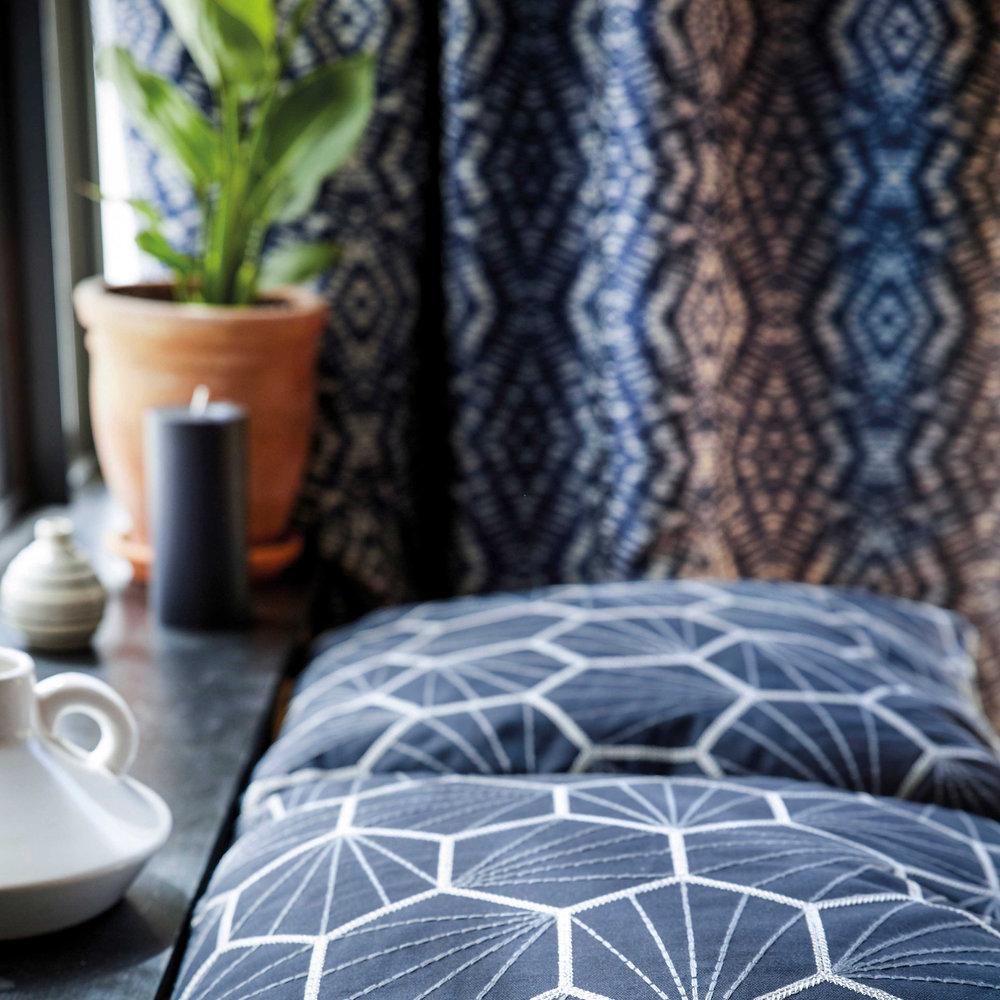 Scion Aikyo Midnight Fabric - Product code: 132733