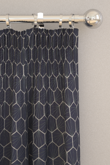 Scion Aikyo Midnight Curtains - Product code: 132733