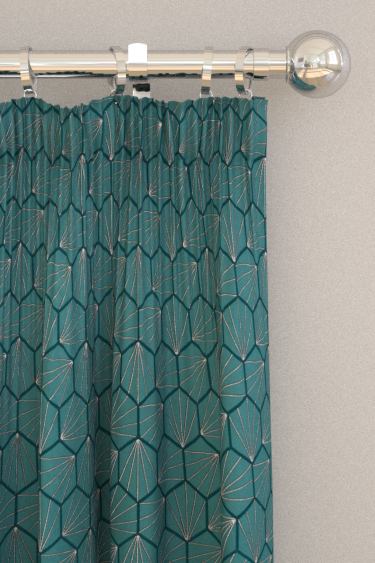 Scion Aikyo Teal Curtains - Product code: 132736