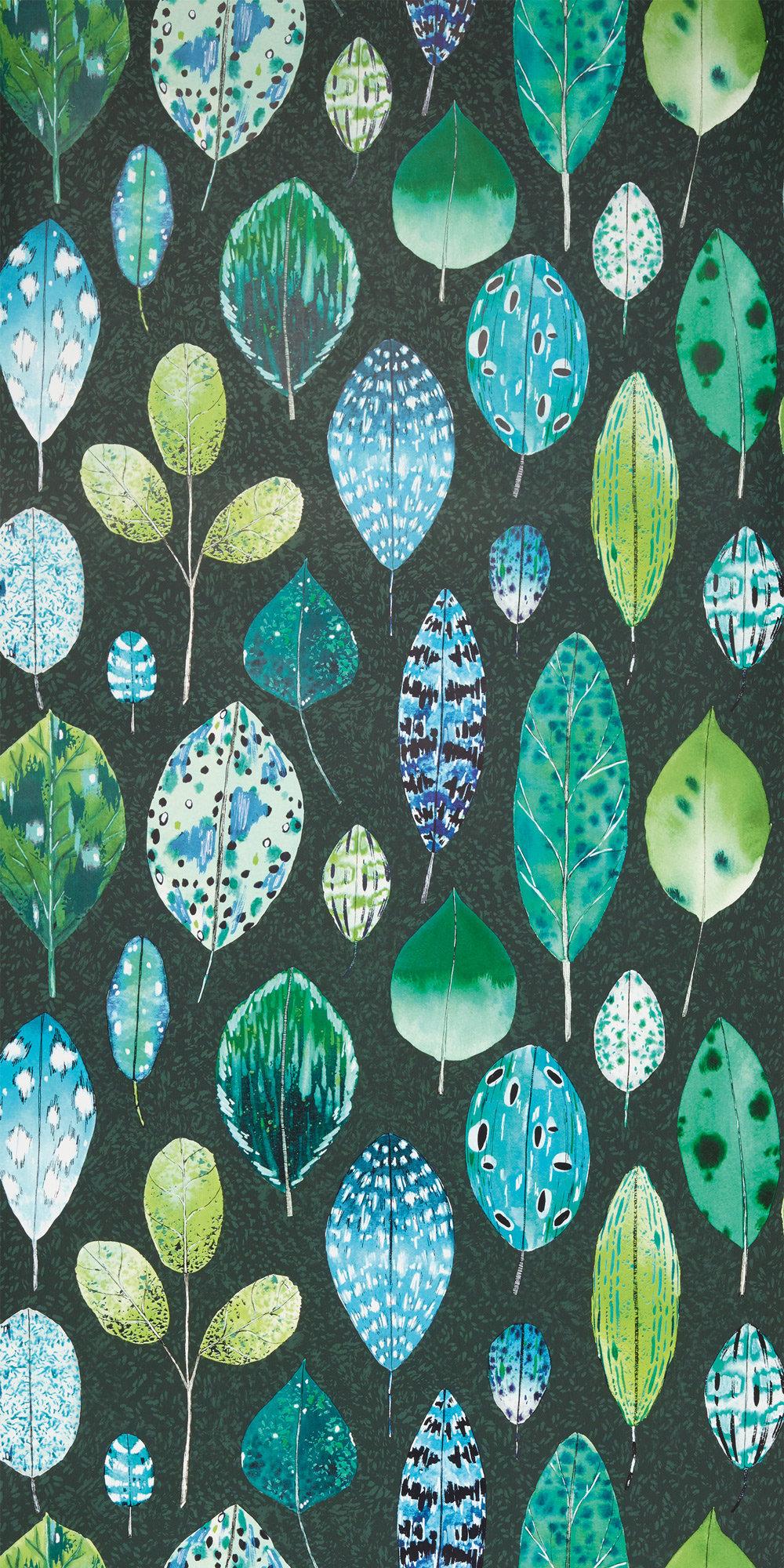 Tulsi Wallpaper - Viridian - by Designers Guild