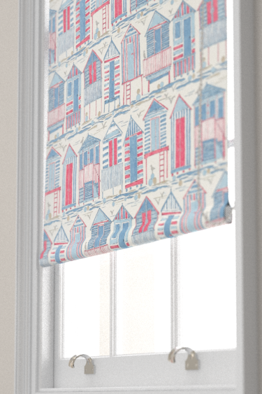 Sanderson Beach Huts Nautical Blind - Product code: 226490